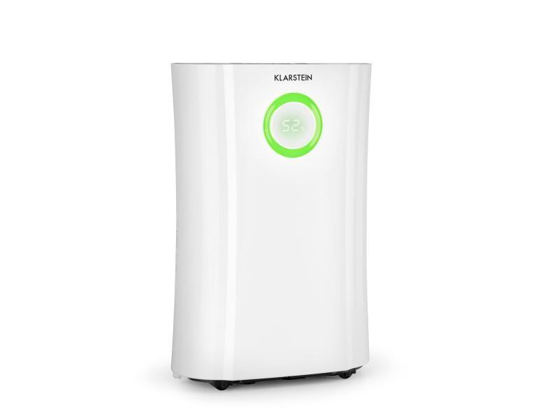 Klarstein dryfy connect 20 déshumidificateur d'air avec connexion wifi - compression 20l/24h - puissance 370w - pour 20m² - blanc DXJ6-DryFyProConnect