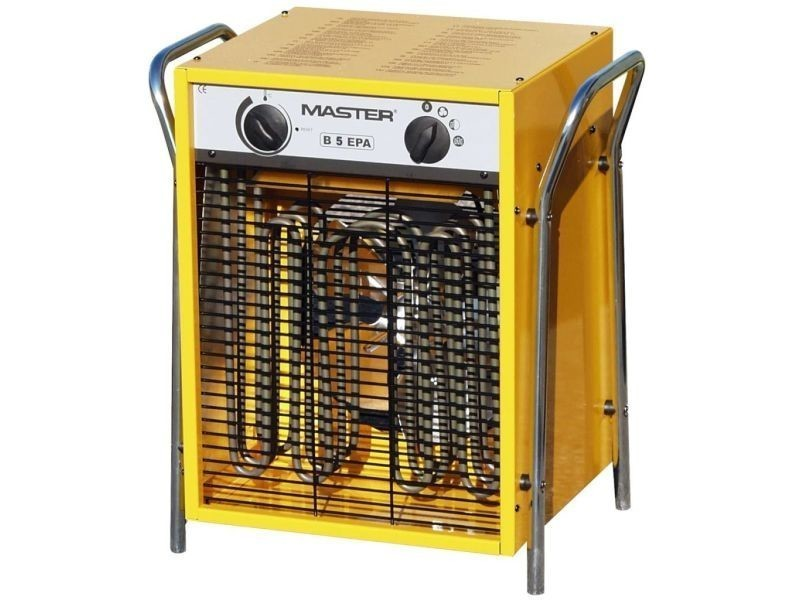 Master radiateur soufflant électrique b5epb 510 m³/h