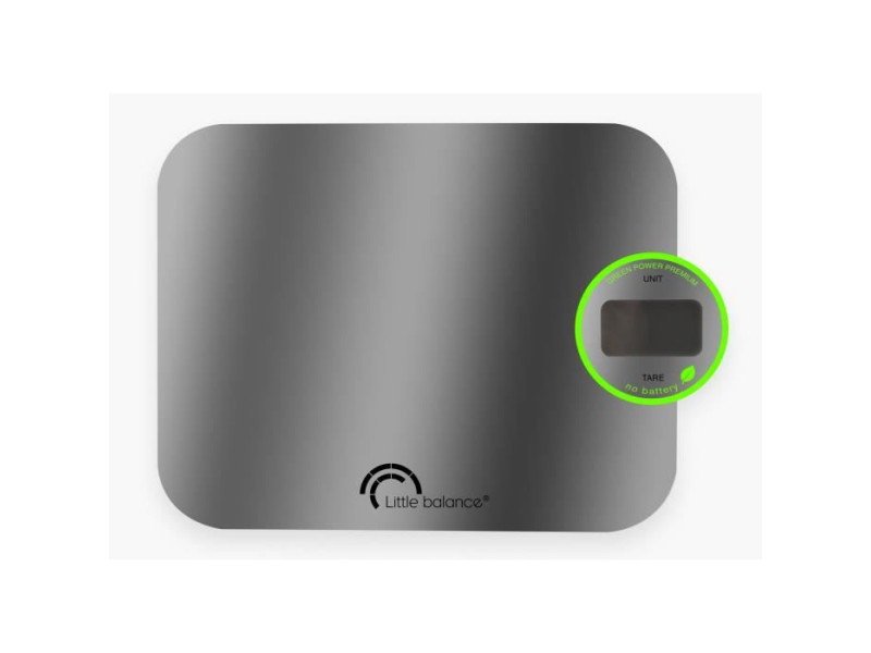Balance green power inox 5kg 1g LIT3760240782230