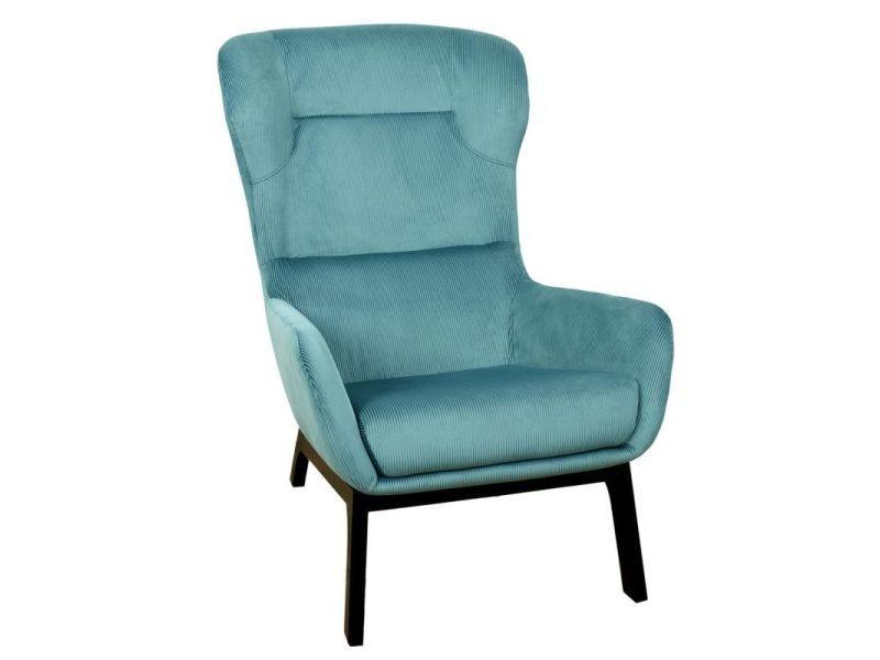 Paris prix - fauteuil velours côtelé design \