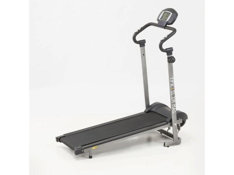 Tapis de course everfit tfk slim mag vente de v lo elliptique et appareil de fitness conforama - Tapis de course ou velo elliptique ...