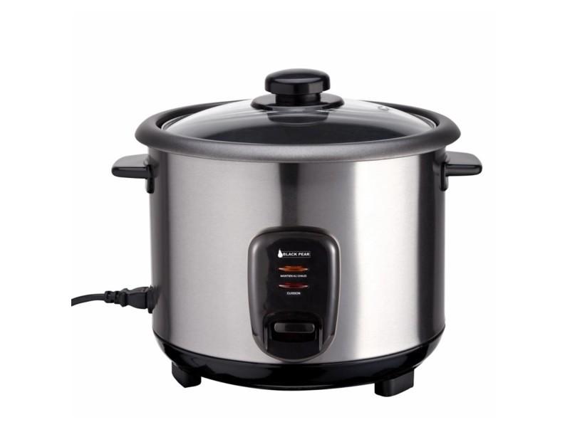 Cuiseur à riz brk 110 blackpear - capacité 1l + spatule + verre doseur