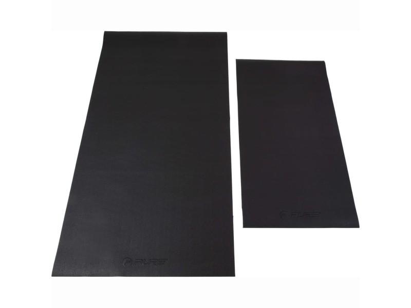 Icaverne - tapis pilates et yoga categorie pure2improve tapis de plancher taille l