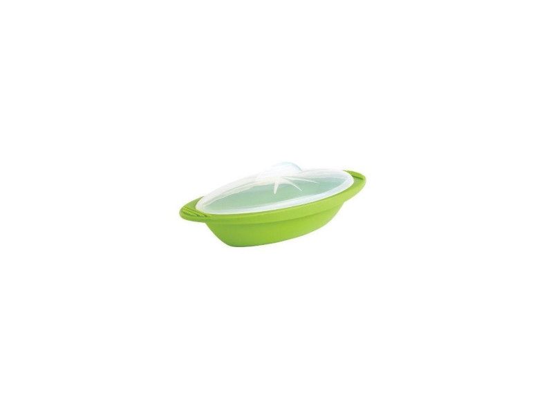 Papillote minute cuisson vapeur f68388 - taille moyenne - vert MAS3485990683889