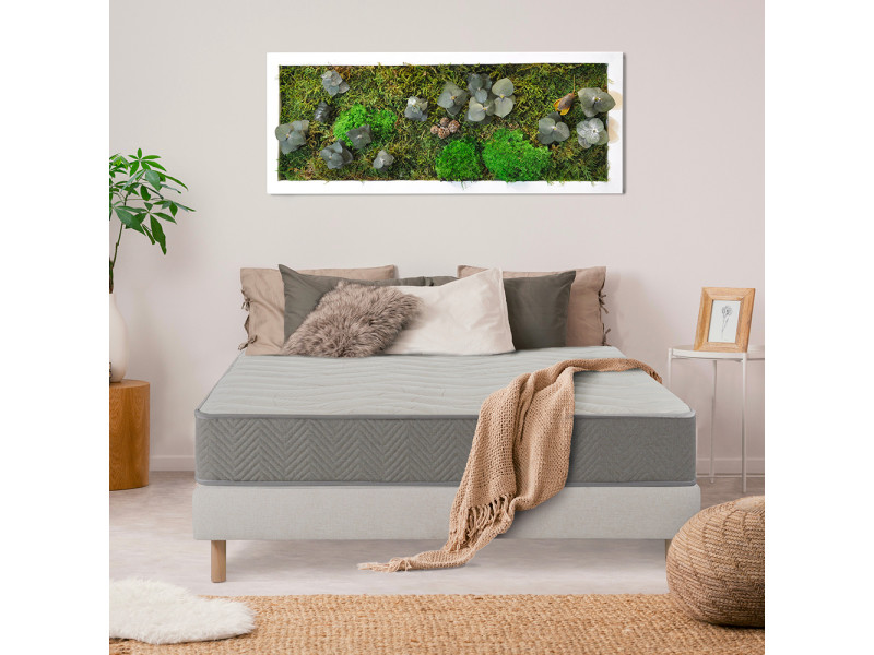 Nuit de coton | matelas prélude bio 90x190 cm | latex naturel | soutien ferme 3MA147.0919