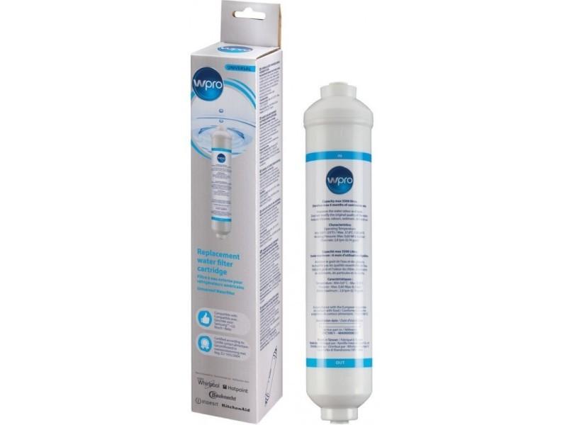 Wpro usc100/1 filtre à eau universel pour réfrigérateur us