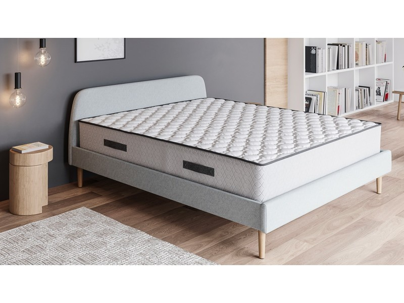 matelas ressorts ensach s 160x200 spring confort hbedding mousse ergonomique et ressorts. Black Bedroom Furniture Sets. Home Design Ideas