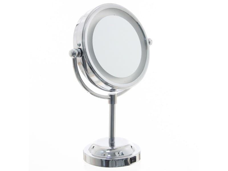 miroir lumineux de salle de bain - Miroir Salle De Bain Conforama