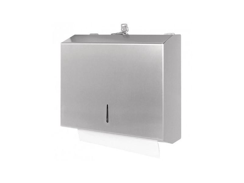 Distributeur d'essuie-mains en acier inoxydable - jantex -