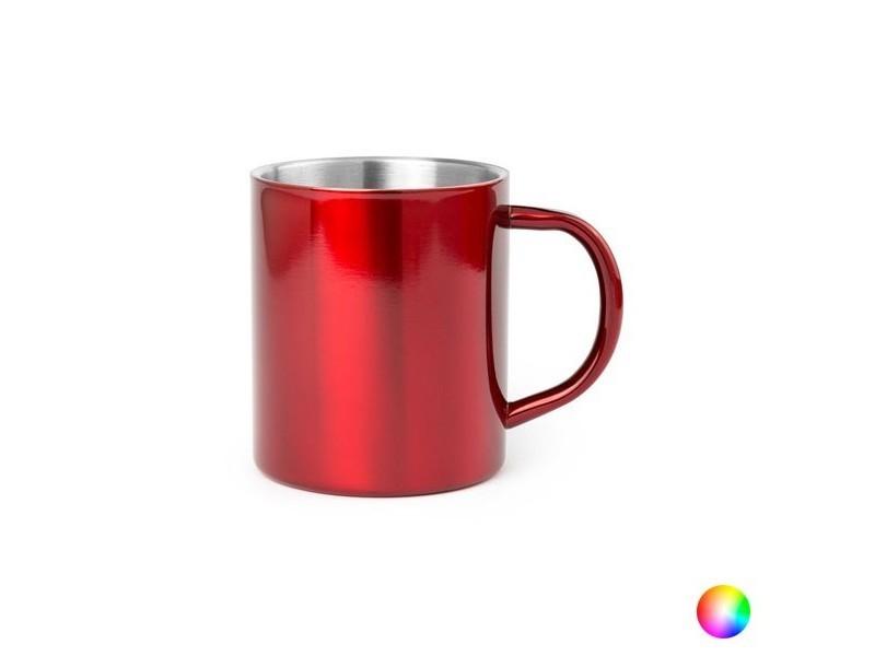 Tasses et thermos moderne couleur fuchsia tasse en acier inoxydable (280 ml) bicolore 144656
