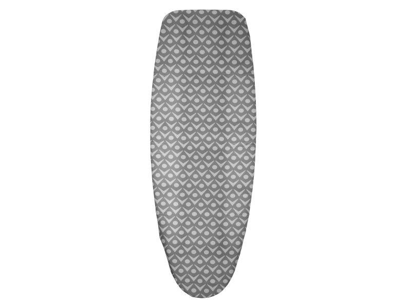 Lot 2x housse de table à repasser - triple épaisseur - t2 - gris clair