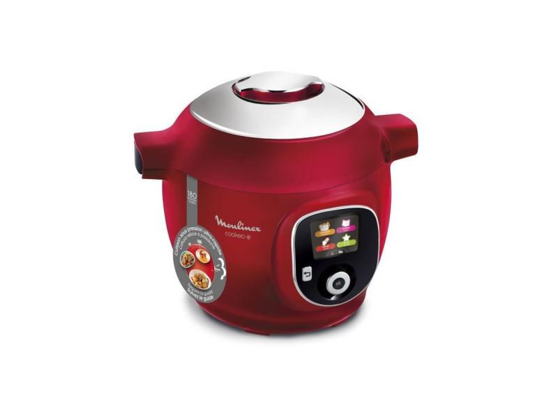 ce85b510 multicuiseur intelligent cookeo + 6 l - 180 recettes préprogrammées - rouge MOUCE85B510