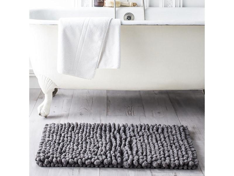 Carpette de bain en coton 50 x 80 cm