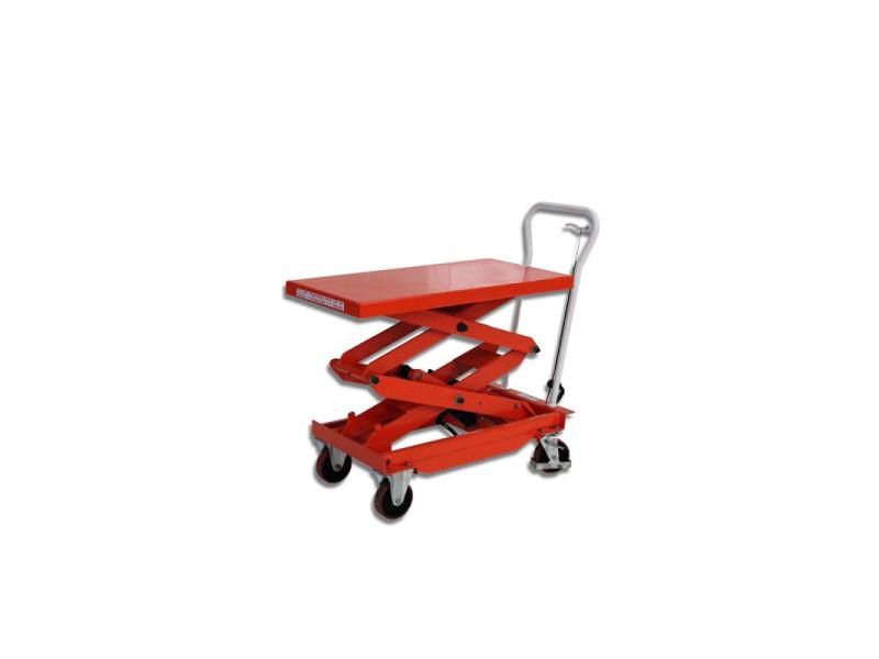 Table élévatrice manuelle - double ciseaux - 500 kg BS50D