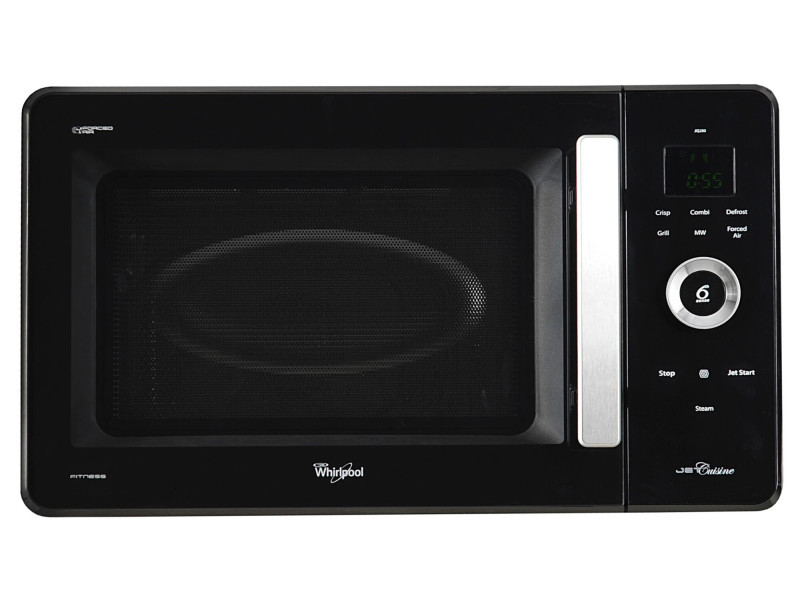 Whirlpool jq 280 bl countertop combination microwave 30l 1000w noir micro-onde