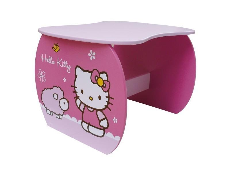 Table haricot hello kitty vente de bureau conforama
