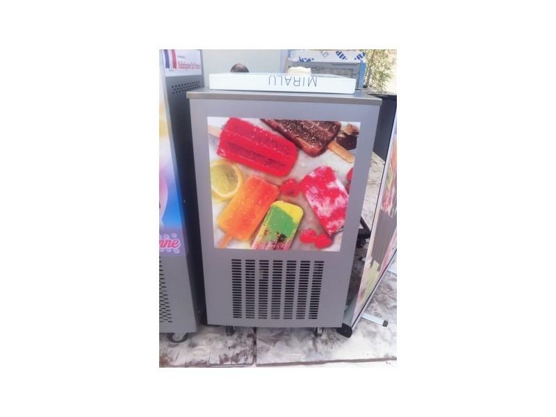 Machine pour glace esquimaux - 2 moules 240 glaces/h - gris