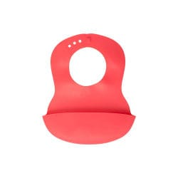 Bavoirs rigides Baby Fox Easy-Roll Rouge