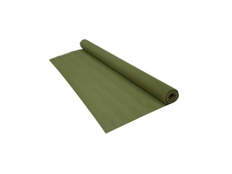 Brise vue renforcé 350 g/m² vert kaki - 1 x 5 mètres