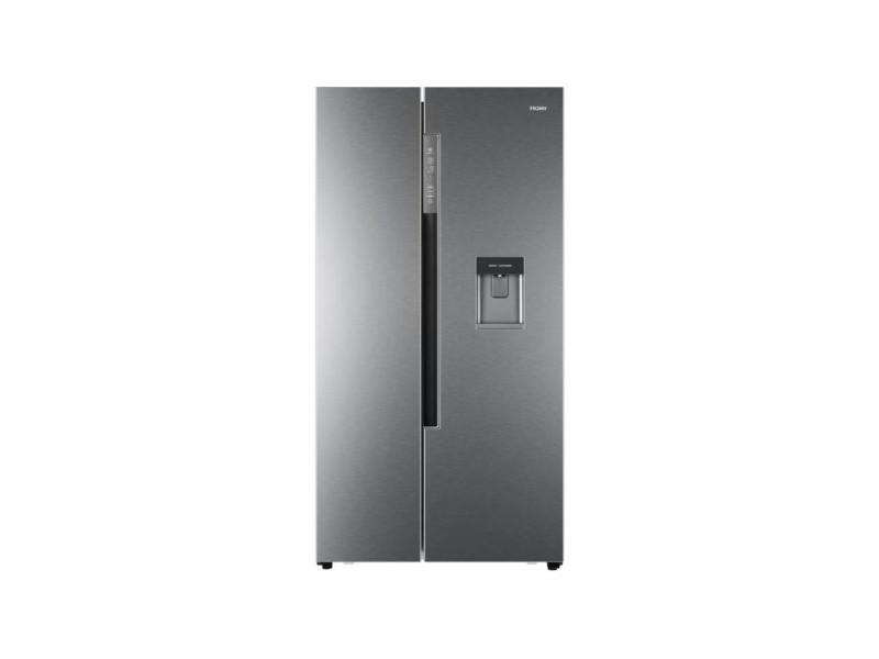 Haier hrf-522ig6 - refrigerateur americain - 500 l 331 l + 169 l - total no frost - a+ - l 90,8 x h 179 cm - silver HAIHRF522IG6