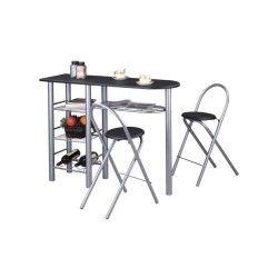 Votre table de cuisine pratique design et selon votre budget for Table bar cuisine conforama
