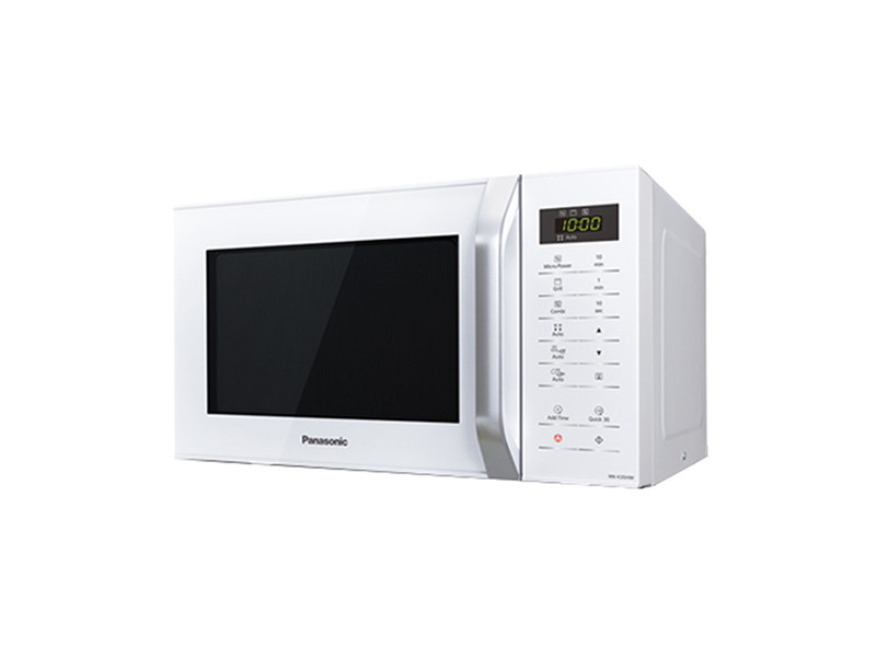 Micro-ondes moderne micro-ondes avec gril panasonic corp. Nn-k35hwm 23 l blanc