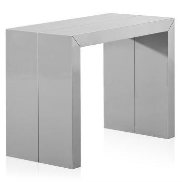 Gris Laquée Xl Clair Extensible De Console Nassau Table Vente N0OP8nkXw