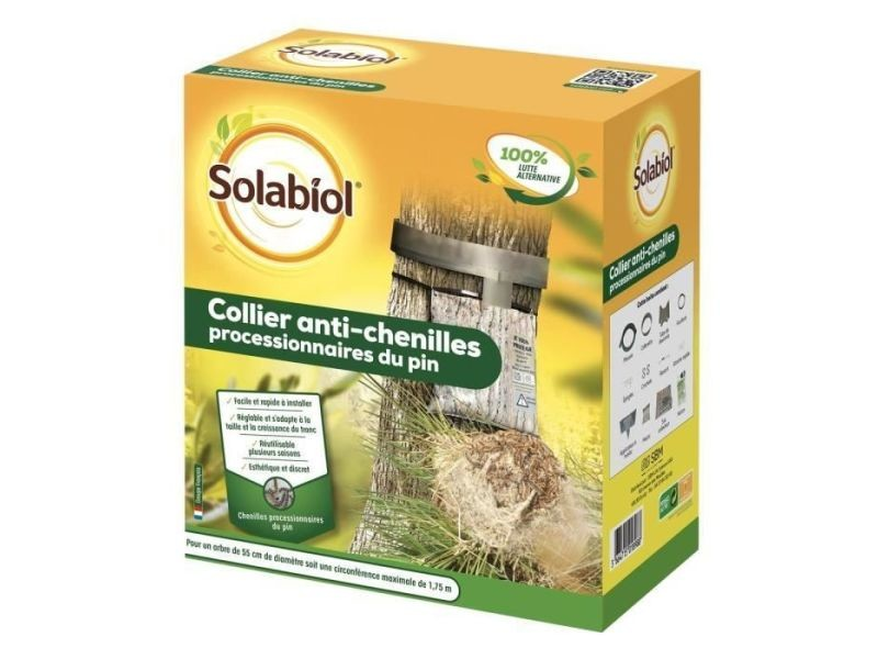 Anti-nuisible plante - traitement plante socopro collier anti-chenilles processionnaires du pin