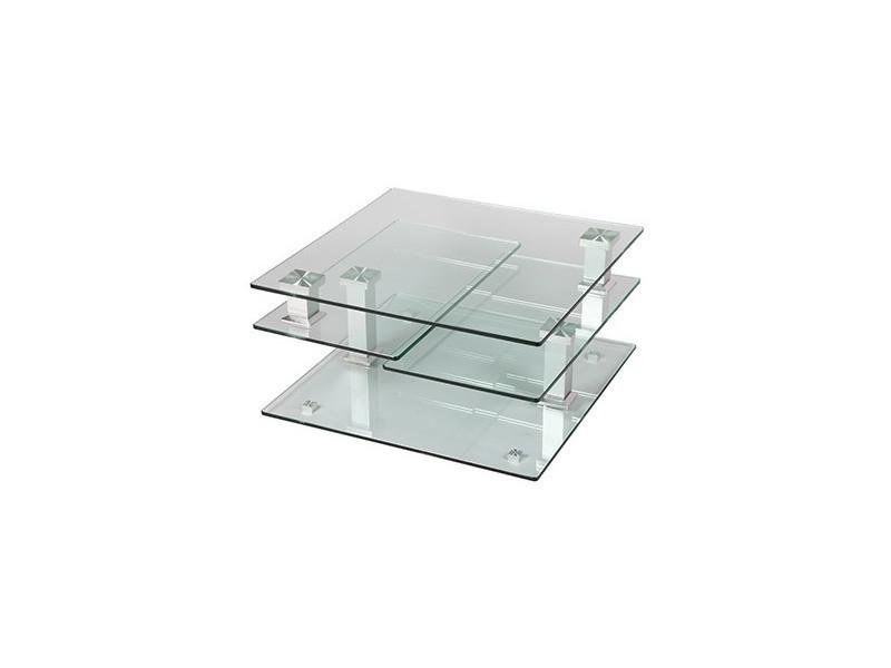 Carrée En Table Basse Verre 80 Cm Vente De Glass T1J5uKlc3F