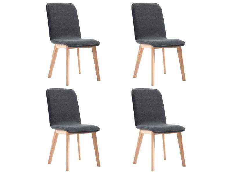 Icaverne chaises de cuisine serie 4 pcs chaises de salle à