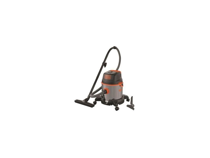 Black & decker aspirateur eau et poussiere 1400 w cuve en inox 20 l BXVC20XE51684