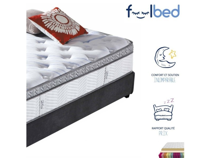 matelas m moire de forme pures 160x200 vente de. Black Bedroom Furniture Sets. Home Design Ideas