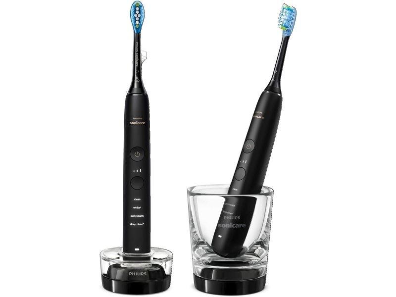 Pack 2 brosse à dents électrique connectées noir