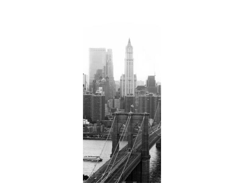New york, paper photo mural, 90x202 cm, 1 part