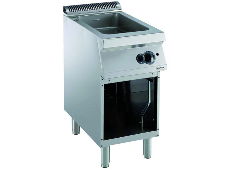 Sauteuse à gaz multifonction pro 700 - l 400 à 800 mm - combisteel - 400 mm