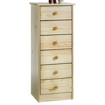 chiffonnier commode apothicaire pin massif vernis naturel vente de chiffonnier conforama. Black Bedroom Furniture Sets. Home Design Ideas