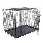 Cage pour chien pliable et transportable noir taille xl 106 x 70 x 77.5 cm 3712015