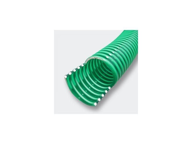 50 mètres tuyau d'aspiration en pvc 1 1/2 pouces (38,1 mm), avec spirale de renforcement helloshop26 4216407