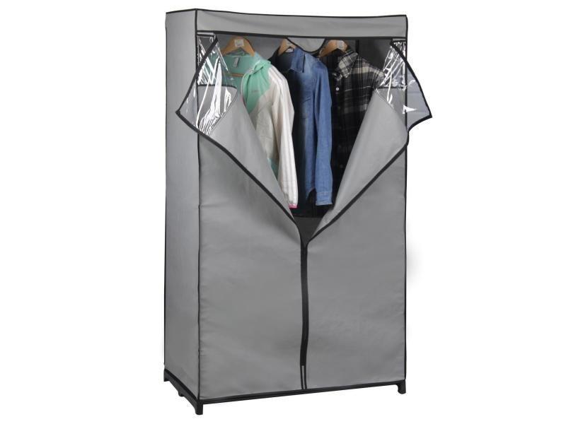 garde robe armoire en tissu vente de idimex conforama. Black Bedroom Furniture Sets. Home Design Ideas