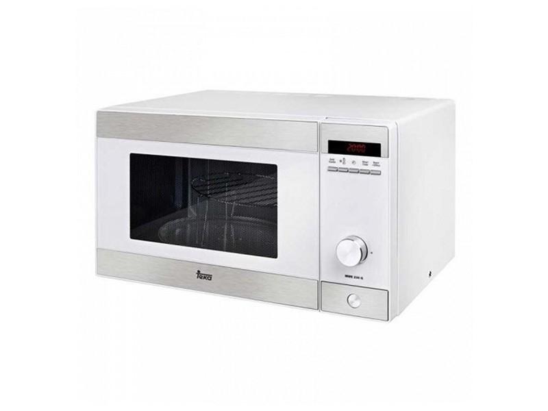 Micro-ondes 23 l 800w blanc - plateau tournant et décongelation et rechauffer