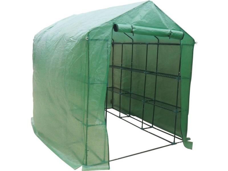 serre tomate petunia 2 5 x 1 7 x 2 1 m vente. Black Bedroom Furniture Sets. Home Design Ideas