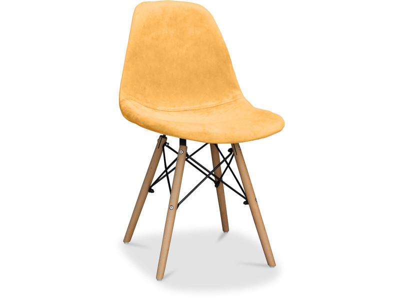 Style De Full Charles Non Dsw Tissu Chaise Orange Eames Vente dxBeoWrC