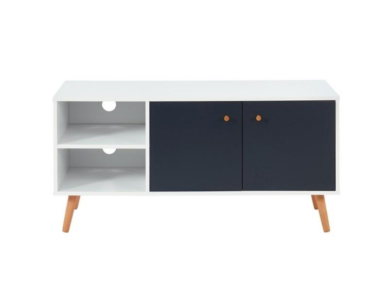 Meuble tv max blanc et gris TVMAX02BS01_512