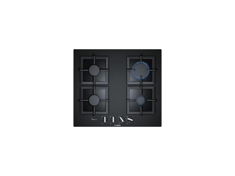 Table de cuisson gaz - 4 foyers - flameselect - 59 cm - nettoyage facile