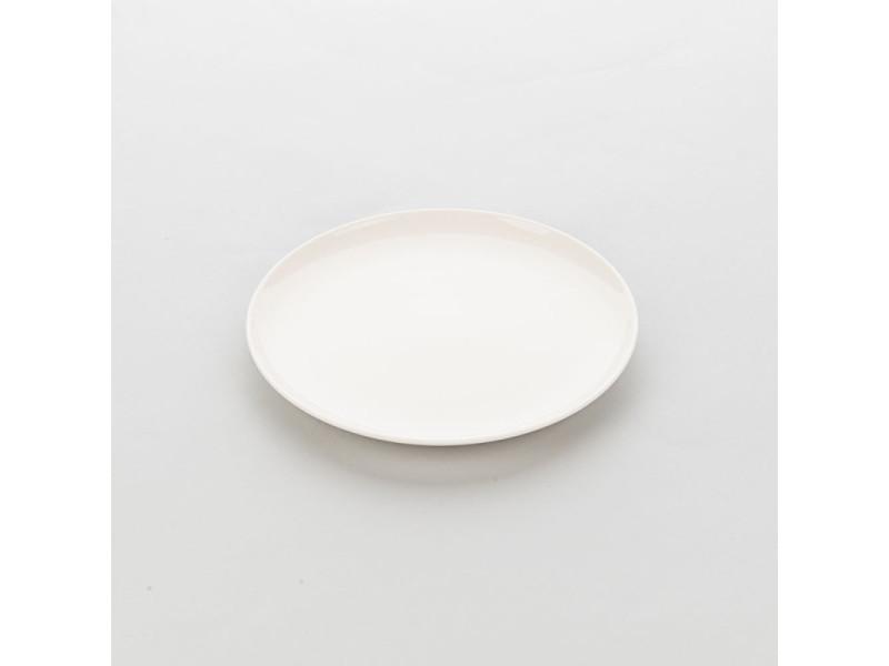 Assiette ronde en porcelaine ecru liguria ø 190 à 310 mm - lot de 6 - stalgast - 19 cm porcelaine 260 (ø) mm