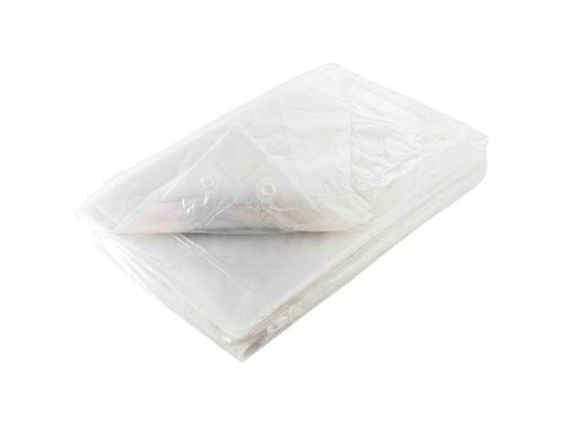 Bâche translucide 70g/m2 indéchirable 1,5 x 5 m
