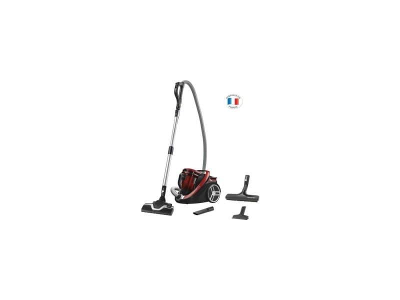 Ro7649ea aspirateur sans sac silence force cyclonic parquet - 2,5 l- 65 db silencieux - rouge et gris ROWRO7649EA