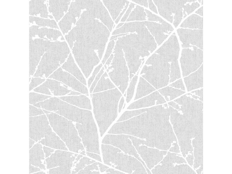 Papier peint intissé innocence vinyle grainé 1005 x 52cm bleu 33-274
