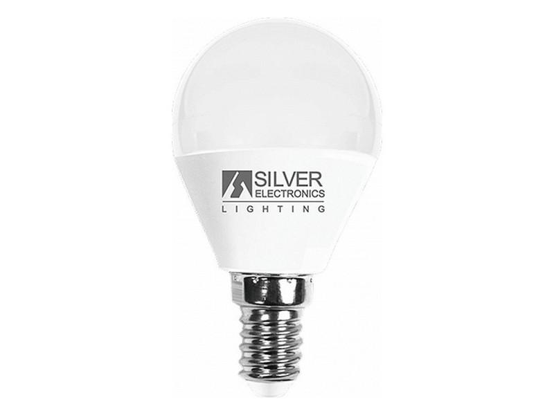 Ampoules splendide choisissez votre option 3000k ampoule led sphérique silver electronics e14 7w lumière chaude