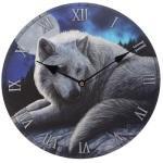 Horloge loup le gardien du nord par lisa parker